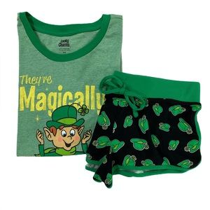 Lucky Charms General Mills T Shirt & Shorts Combo